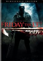 Cover image for Friday the 13th [DVD] / New Line Cinema and Paramount Pictures presents in association with Michael Bay, a Platinum Dunes production ; produced by Michael Bay, Andrew Form, Brad Fuller, Sean Cunningham ; screenplay by Damian Shannon & Mark Swift ; directed by Marcus Nispel.