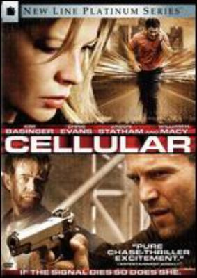 Cover image for Cellular [DVD] / New Line Cinema presents an Electric Entertainment production ; produced by Dean Devlin, Lauren Lloyd ; screenplay by Chris Morgan ; directed by David R. Ellis.