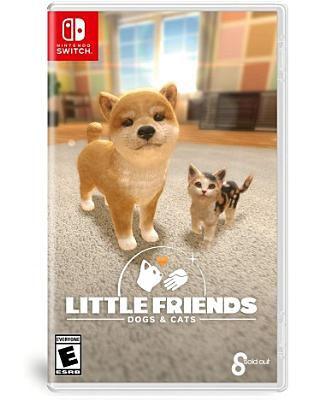 Cover image for Little friends. Dogs & cats [video game]