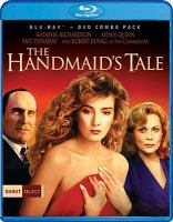 Cover image for The handmaid's tale [blu-ray] / Cinecom Entertaiment Group presents with Master Partners ; produced by Daniel Wilson ; screenplay by Harold Pinter ; directed by Volker Schlöndorff.