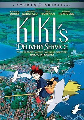Cover image for Kiki's delivery service [DVD] = Majo no takkyūbin / Studio Ghibli film ; Eiko Kadono ; Nibariki ; Tokuma Shoten ; producer, Toshio Suzuki ; U.S. version writers, Jack Fletcher, John Semper ; written & directed by Hayao Miyazaki.