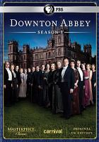 Cover image for Downton Abbey. Season 3 [DVD] / written and created by Julian Fellowes ; executive producers, Gareth Neame, Julian Fellowes, Nigel Marchant;  producer, Liz Trubridge ; directors, Brian Percival, Andy Goddard, Jeremy Webb, David Evans ; a Carnival Films production ; a Carnival/Masterpiece co-production. ; NBCUniversal.