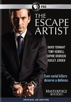 Cover image for The escape artist [DVD] / an Endor Production in association with Red Arrow International GMBH for BBC ; created and written by David Wolstencroft ; produced by Paul Frift and Hilary Bevan Jones ; directed by Brian Welsh.