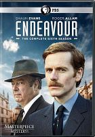 Cover image for Endeavour. The complete sixth season [DVD] / a co-production of Mammoth Screen and Masterpiece in association with ITV Studios ; directed by Johnny Kenton, Shaun Evans, Leanne Welham, Jamie Donoughue ; produced by Deanne Cunningham ; written and devised by Russell Lewis.