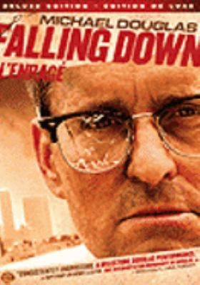 Cover image for Falling down [DVD] / Warner Bros. presents ; in association with Le Studio Canal+, Regency Enterprises and Alcor Films ; an Arnold Kopelson production ; a Joel Schumacher film ; written by Ebbe Roe Smith ; produced by Arnold Kopelson, Herschel Weingrod and Timothy Harris ; directed by Joel Schumacher.
