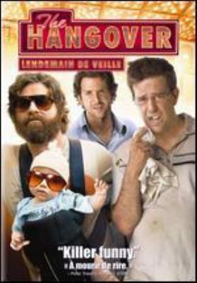 Cover image for The hangover [DVD] / Warner Bros. Pictures presents in association with Legendary Pictures, a Green Hat Films production, a Todd Phillips movie ; produced by Todd Phillips, Dan Goldberg ; written by Jon Lucas & Scott Moore ; directed by Todd Phillips.