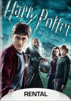 Cover image for Harry Potter and the Half-Blood Prince [DVD] / Warner Bros. Pictures presents a Heyday Films production ; produced by David Heyman, David Barron ; screenplay by Steve Kloves ; directed by David Yates.