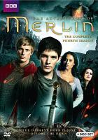 Cover image for The adventures of Merlin. The complete fourth season [DVD] / Shine Limited.