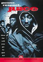 Cover image for Juice [DVD] / Paramount Pictures presents, in association with Island World, a Moritz/Heyman production ; an Ernest R. Dickerson film ; screenplay by Gerard Brown and Ernest R. Dickerson ; story by Ernest R. Dickerson ; produced by David Heyman & Neal H. Moritz and Peter Frankfurt ; directed by Ernest R. Dickerson.