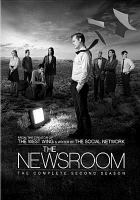 Cover image for The newsroom. The complete second season [DVD] / HBO Entertainment presents ; executive producers, Aaron Sorkin, Scott Rudin, Alan Poul ; created by Aaron Sorkin.