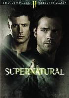Cover image for Supernatural. The complete eleventh season [DVD]