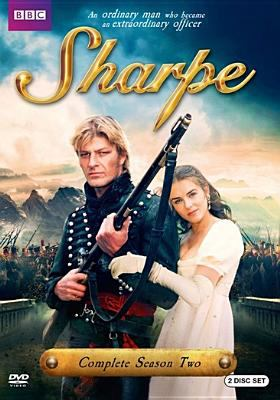 Cover image for Sharpe. Complete season two / a Central production ; directed by Tom Clegg ; written by Charles Wood, Eoghan Harris, Colin MacDonald.