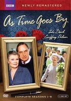 Cover image for As time goes by. Complete seasons 1-9 [DVD] / British Broadcasting Corporation ; Theatre of Comedy Production ; produced and directed by Sydney Lotterby ; written by Bob Larbey.