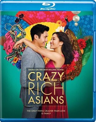 Cover image for Crazy rich Asians [blu-ray] / Warner Bros. Pictures presents in association with SK Global and Starlight Culture ; a Color Force/Ivanhoe Pictures/Electric Somewhere production ; produced by Nina Jacobson, Brad Simpson, Jon Penotti ; screenplay by Peter Chiarell and Adele Lim ; directed by Jon M. Chu.