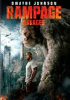 Cover image for Rampage [DVD] / New Line Cinema presents in association with ASAP Entertainment ; a Wrigley Pictures/F.P.C./Seven Bucks Productions production ; a Brad Peyton film ; story by Ryan Engle ; scrennplay by Ryan Engle and Carlton Cuse & Ryan J. Condal and Adam Sztykiel ; produced by Beau Flynn, John Rickard, Brad Peyton, Hiram Garcia ; directed by Brad Peyton.