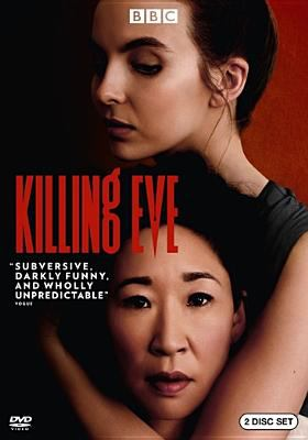 Cover image for Killing Eve [DVD] / written by Phoebe Waller-Bridge, Luke Jennings, George Kay, Vicky Jones and Rob Williams ; directed by Jon East, Damon Thomas, Harry Bradbeer.