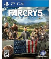 Cover image for Farcry5 [video game] / developed and published by Ubisoft.