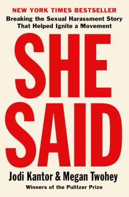 Picture of book cover for She Said