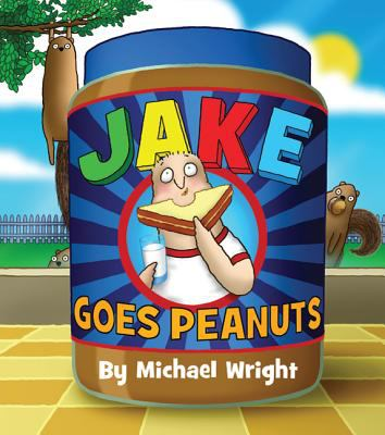Cover image for Jake goes peanuts / Michael Wright.