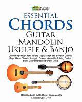 Cover image for Essential chords : guitar mandolin ukulele & banjo