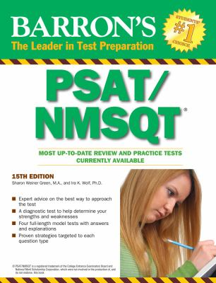 Cover image for Barron's PSAT/NMSQT