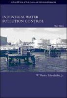Cover image for Industrial water pollution control