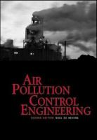 Cover image for Air pollution control engineering