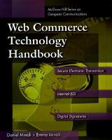 Cover image for Web commerce technology handbook