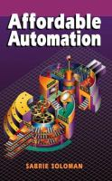 Cover image for Affordable automation