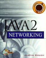Cover image for Java 2 networking
