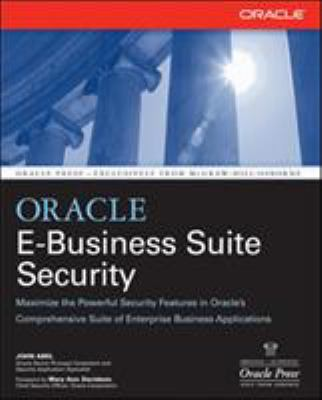 Cover image for Oracle e-business suite security