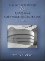 Cover image for Object-oriented and classical software engineering