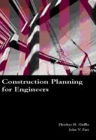 Cover image for Construction planning for engineers