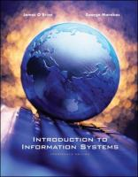 Cover image for Introduction to information systems