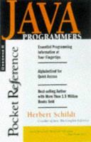 Cover image for Java : programmer's reference