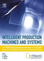 Cover image for Intelligent production machines and systems