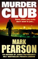 Cover image for MURDER CLUB