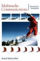 Cover image for Multimedia communications : directions and innovations