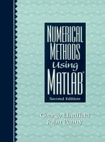 Cover image for Numerical methods using MATLAB