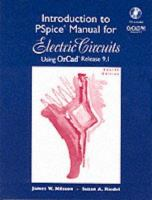 Cover image for Introduction to PSpice manual for electric circuits : using orcad release 9.1
