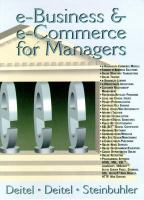 Cover image for E-business and e-commerce for managers