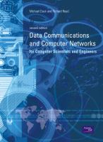 Cover image for Data communications and computer networks : for computer scientists and engineers