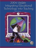 Cover image for Educational technology in action : tutorial CD-ROM