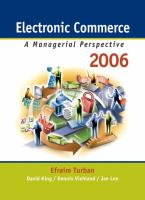 Cover image for Electronic commerce 2006 : a managerial perspective