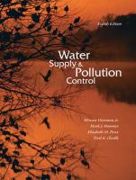 Cover image for Water supply and pollution control