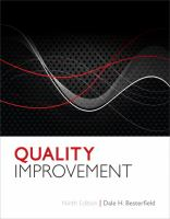Cover image for Quality improvement