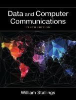 Cover image for Data and computer communications