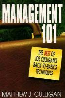 Cover image for MANAGEMENT 101