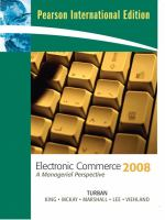 Cover image for Electronic commerce 2008 : a managerial perspective