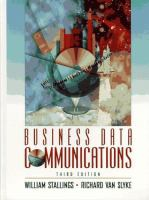 Cover image for Business data communications